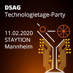 Unsere DSAG Technologietage-Party