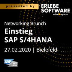 Unser Networking Brunch zum Thema Einstieg SAP S/4HANA
