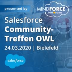 Salesforce Community-Treffen OWL am 24.03.2020 in Bielefeld