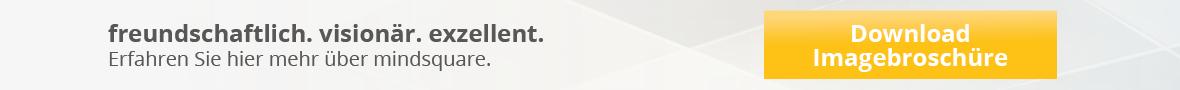 Imagebroschüre mindsquare SAP Berater und Entwickler