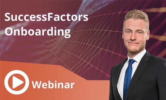 SuccessFactors Onboarding
