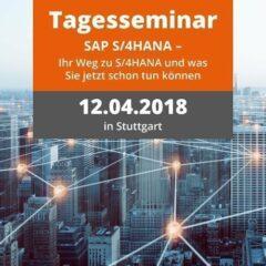 Unser Tagesseminar zum Thema SAP S/4HANA