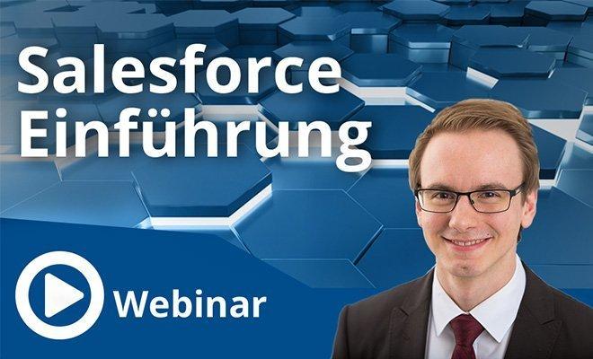 Unser Webinar zum Thema Salesforce Einführung