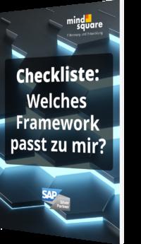 Unsere Checkliste: Welches Framework passt zu mir?