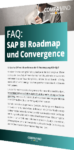 Unser Whitepaper zu FAQ: SAP BI Roadmap und Convergence
