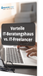 Unser Whitepaper zu den Vorteilen eines IT-Beratungshauses vs. IT-Freelancers