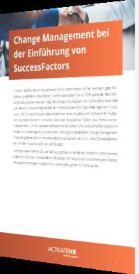 Change Management SuccessFactors