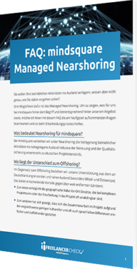 Unser Whitepaper zum Thema FAQ: mindsquare Managed Nearshoring