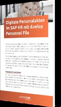 Unser Whitepaper zum Thema Digitale Personalakten im SAP HR mit d.velop Personnel File