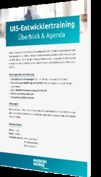 Unser Whitepaper zum UI5-Entwicklertraining
