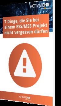 7 Dinge ESS MSS Projekt
