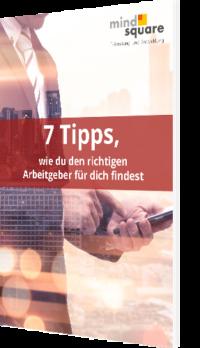 Unser Whitepaper zum Thema 7 Tipps, wie du den richtigen Arbeitgeber für dich findest