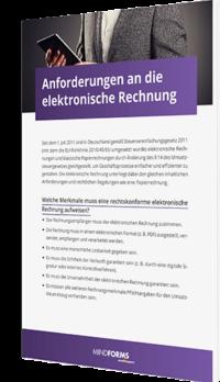 Anforderungen an elektronische Rechnungen