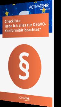 Checkliste: Habe ich alles zur DSGVO-Konformität beachtet?