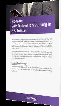 SAP Datenarchivierung in 3 Schritten