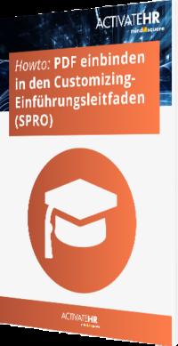 Einbinden eines PDF in den Customizing- Einführungsleitfaden (SPRO)