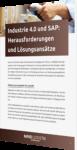 Unser Whitepaper zum Thema Industrie 4.0 und SAP: Herausforderungen und Lösungsansätze