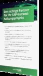 Partner SAP Instandhaltungsprojekt