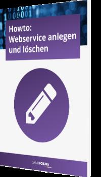 Webservice anlegen und löschen