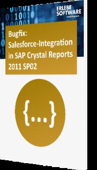 Bugfix SAP Crystal Reports