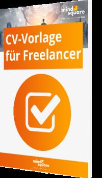 CV-Vorlage für Freelancer