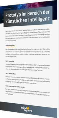 Unser Whitepaper zum Thema Prototyp im Bereich der künstlichen Intelligenz