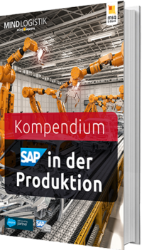 Buchgrafik E-Book SAP in der Produktion