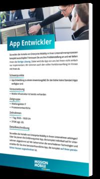 Unser Whitepaper zum Thema App Entwickler