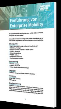 Unser Whitepaper zur Einführung von Enterprise Mobility