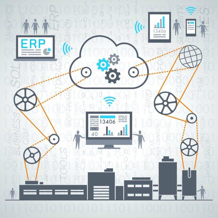 In der Smart Factory sprechen die einzelnen Systeme miteinander und verbessern so die Produktion