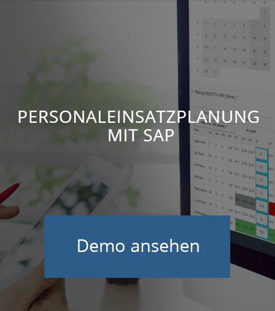 Personaleinsatzplanung mit SAP Demo