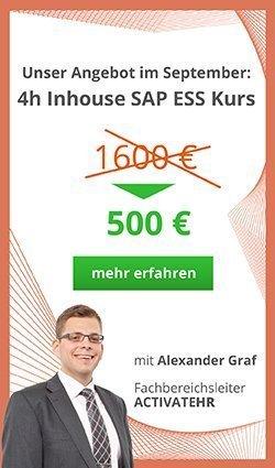 SAP ESS Inhouse Kurs