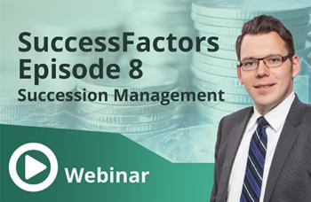 Unser Webinar zum Thema SuccessFactors Episode 8