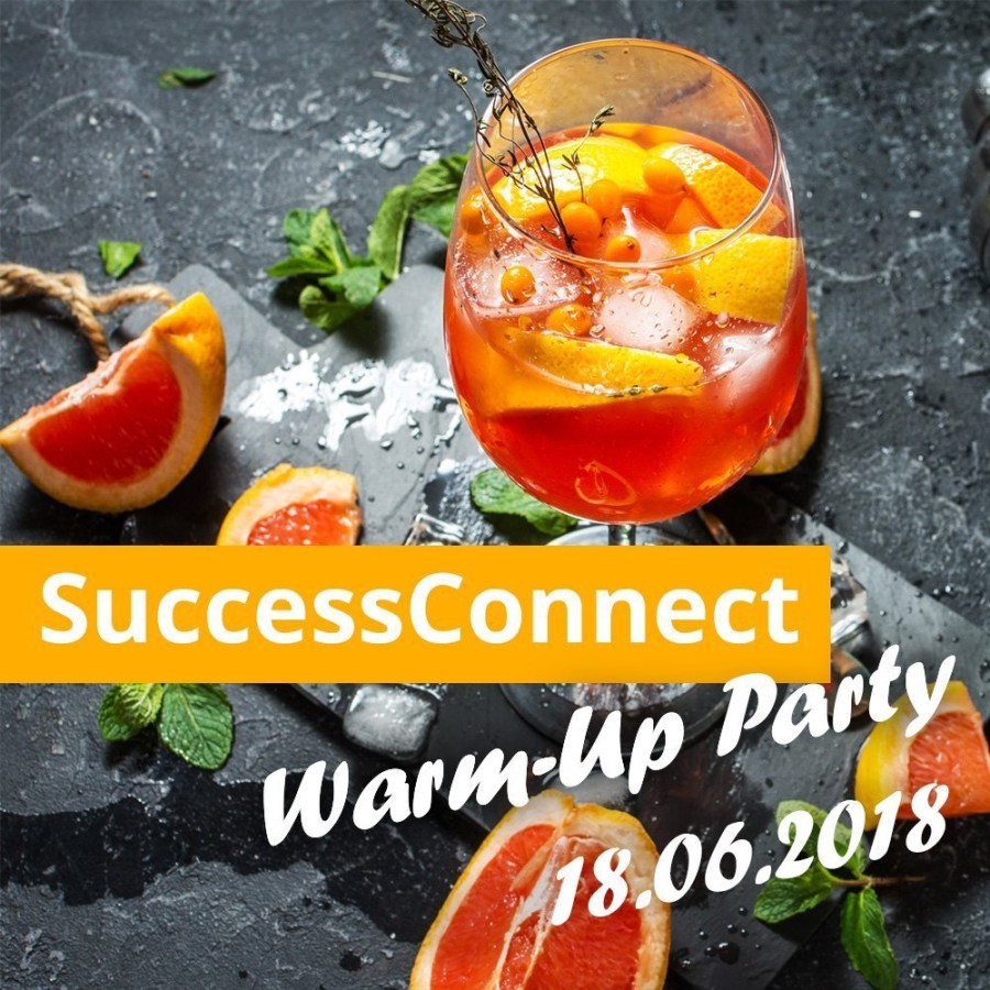 SuccessConnect Warm-Up Party 2018 in Berlin