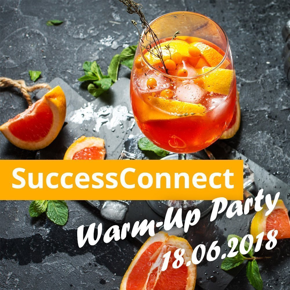 Warm-up Party SuccessConnect