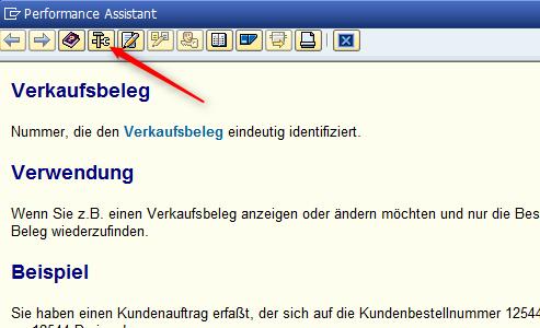 """Suchen im SAP """"Technische Informationen"""""""
