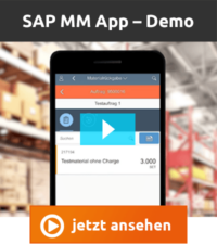 Videodemo mindlogistik SAP MM App