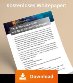 Whitepaper - 7 Schritte zum ersten erfolgreichen DevOps-projekt