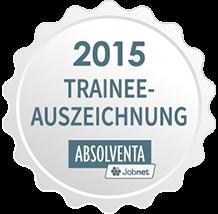 Trainee-Auszeichnung Absolventa