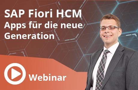 SAP Fiori HCM Apps für die neue Generation