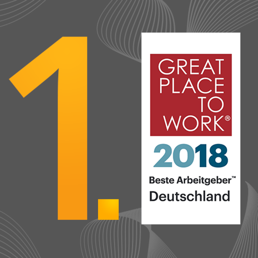 """mindsquare erreicht Platz 1 im Wettbewerb """"Deutschlands Beste Arbeitgeber 2018"""""""