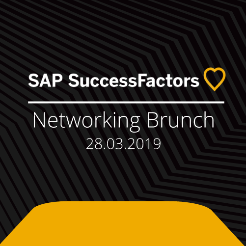Unser Networking Brunch zum Thema SAP SuccessFactors