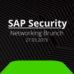 Unser Networking Brunch zum Thema SAP Security