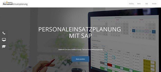 Personaleinsatzplanung mit SAP