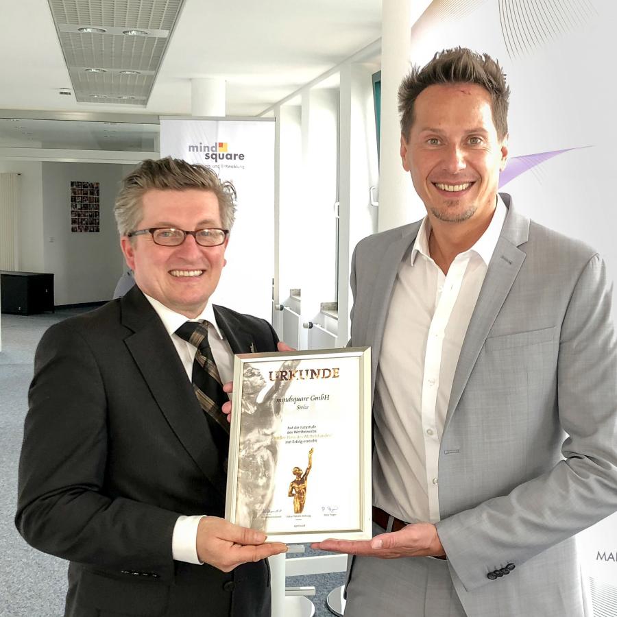 mindsquare gehört zu den Besten im deutschen Mittelstand