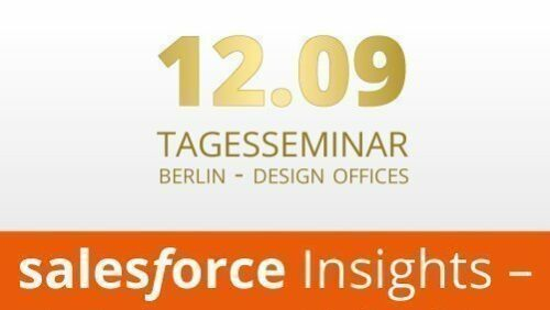 Tagesseminar Salesforce Insights
