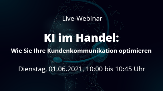 Live-Webinar KI im Handel