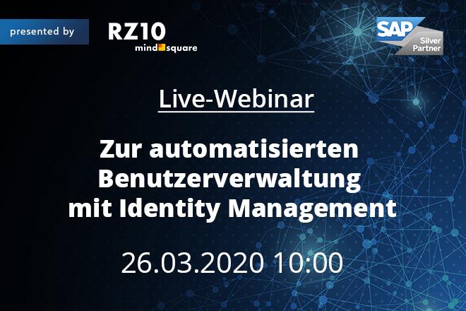 Zur automatisierten Benutzerverwaltung mit Identity Management