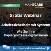 Arbeitssicherheit mit System - Papierprozesse digitalisieren