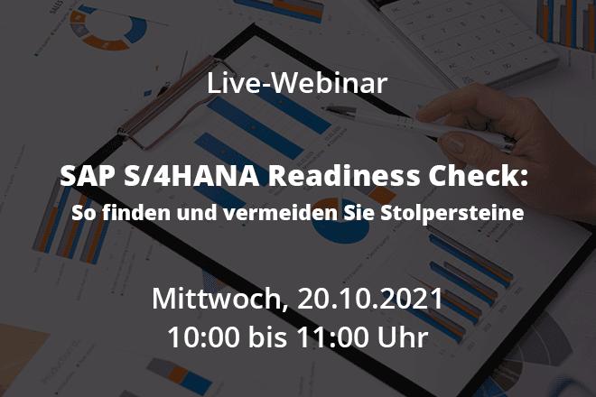 SAP S/4HANA Readiness Check: So finden und vermeiden Sie Stolpersteine